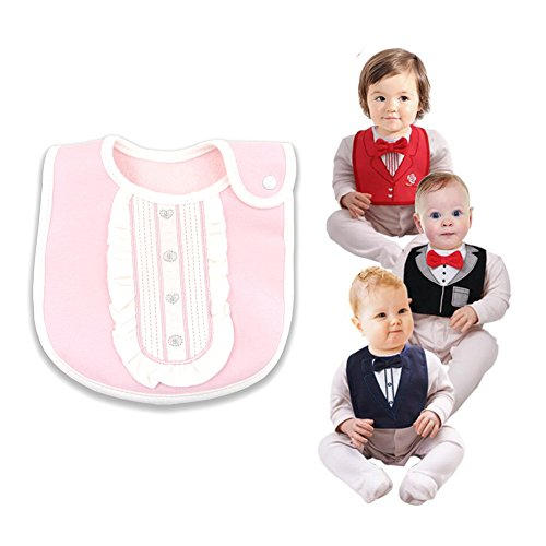 3D Drooler Bibs Waterproof Back Baby Bandana Bids Newborn Baby Drooling and Teething Burp Cloths (Bandana Waterproof)