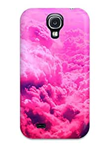 New Snap-on BenjaminHrez Skin Case Cover Compatible With Galaxy S4- Pink Clouds