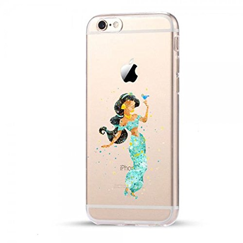 Disney Jasmin Schutzhülle Appel Iphone Serie transparent TPU Case Appel Iphon Iphone X Hülle -AcAccessoires #0032 (Iphone X)