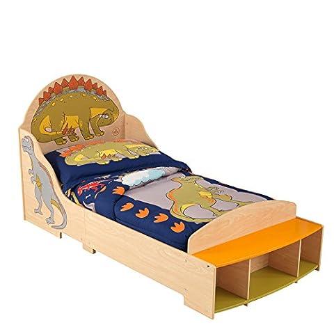 KidKraft Boys Dinosaur Toddler Bed