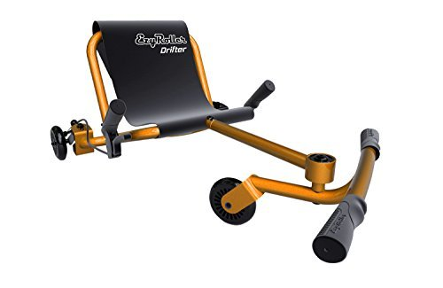 (Ezyroller Drifter - Orange - Ride On for Children Ages 6+ Years Old - New Twist on Scooter - Kids Move and Drift Using Right-Left Leg Movements to Push Foot Bar - Fun Play and Exercise)