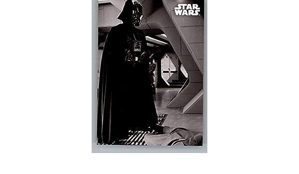 Star Wars ESB Black /& White Blue Base Card #77 The Dark Lord/'s Discipline