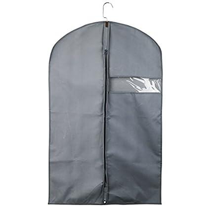 eDealMax transpirable ropa Portadores Bolsas Traje, ropa Cubiertas Para Los juegos de viaje de almacenamiento