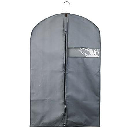 DealMux respirável vestuário Carriers Bolsas Fato, Garment Capas para ternos de armazenamento de viagem, vestidos, lençóis, roupas com 1pcs limpar a ...