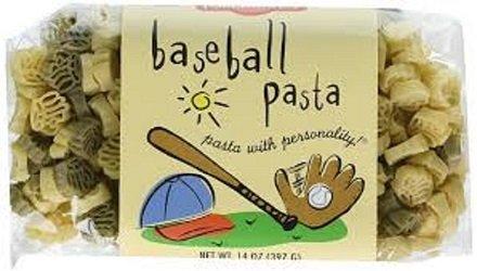 1 Pack x Baseball Pasta, Bats, Gloves & Ball shapes, All Natural, Made in USA