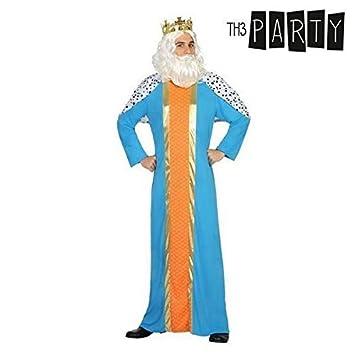 Atosa-30761 Disfraz Rey Mago Hombre Adulto-T, Color Azul, XL ...