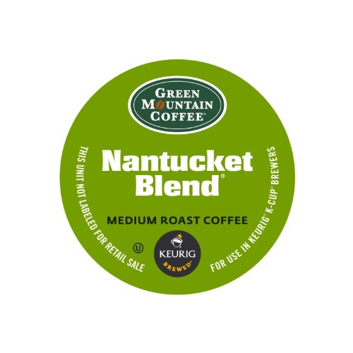 Green Mountain Coffee Nantucket Blend Fair Trade Keurig Single-Serve K-Cup Pods, Medium Roast Coffee, 24 Count