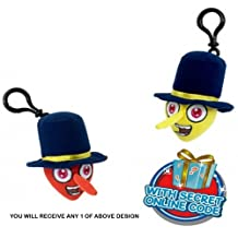 Character Bin Weevils 'Red Clott,Yellow Dosh' 4 Inch Assorted Backpack Clip (Supplied Any 1)