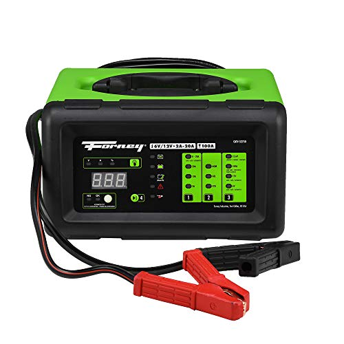 Forney black/green 52750 Battery Charger, 6 12-Volts