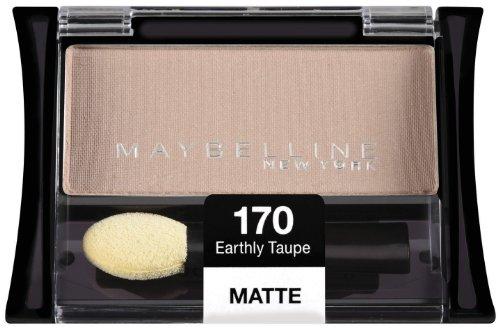 Maybelline New York Expert Wear célibataires de fard à paupières, terrestre Taupe 170 Matte, 0,09 once