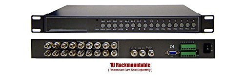 9-Channel RCA BNC Video Multiplexer Picture-In-Picture Video ()