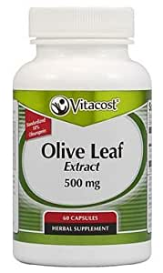 Vitacost Olive Leaf Extract - Standardized -- 500 mg - 60 Capsules