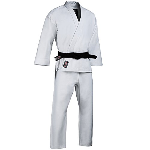 Hayabusa Cotton Karate Gi Uniform (White, 5)