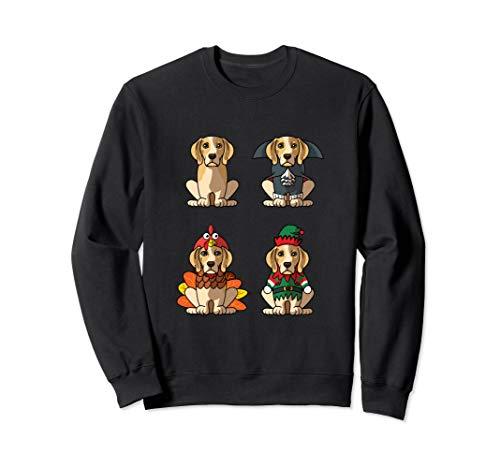 Beagle Costume Halloween Christmas Thanksgiving Sweatshirt]()
