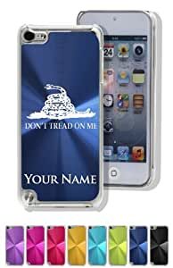 iPod 5 Case/Cover - GADSEN FLAG / TEXAS - Personalized for FREE (Click the CONTACT SELLER button after purchase and send a message with your case color and engraving request)
