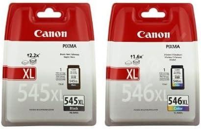 Canon 8286B006 PG 545XL y CL 546XL - Cartucho de tinta, color ...