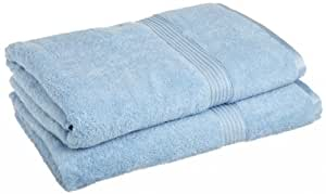 Luxury Spa Collection Egyptian Cotton Bath Towel (1PC) LIGHT BLUE