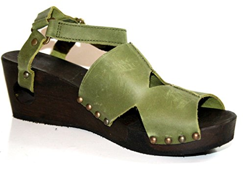 Loints of Holland - Plataforma Mujer Verde - verde