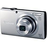 16 Million Pixels of Canon Digital Camera Powershot A2400is 5 Times As Much Optical Zoom Psa2400is - International Version (No Warranty)