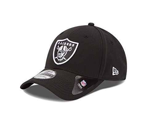 NFL Oakland Raiders Team Classic 39THIRTY Stretch Fit Cap, Medium/Large, (Team Nfl Football Hat)