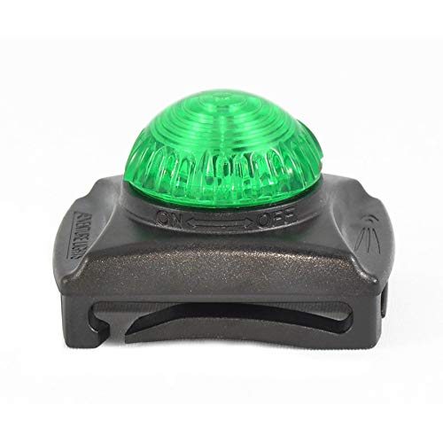 Adventure Lights Guardian Hunting Dog Series Green LED Safety Collar (2-Pack)