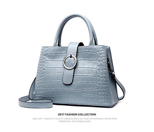 Taschen Damen Leder 2018 Neu Elegant Große Handtasche Europäische stil Schultertaschen Umhängetasche Shopper Tasche Henkeltasche Beuteltasche Weich Damentasche Messenger bag