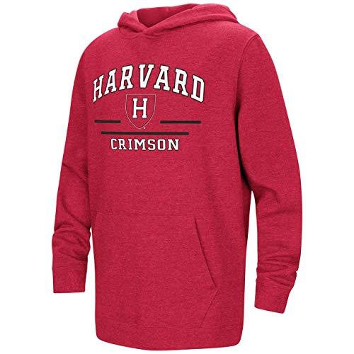 Harvard Crimson Youth NCAA Super Fan Hooded Sweatshirt - Team Color, Youth Medium