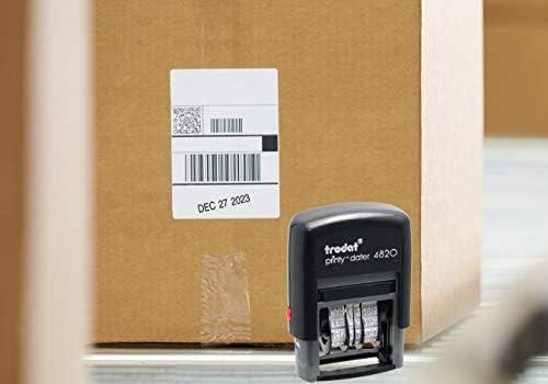 Trodat エコノミー セルフインク 日付スタンプ Single - 5 Pack