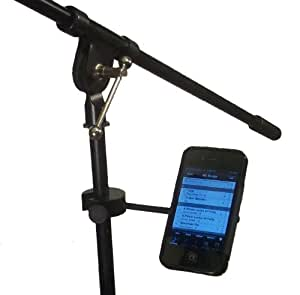 Strumbuddy Sing-Along Magnetic Smartphone Holder for Microphone Stand