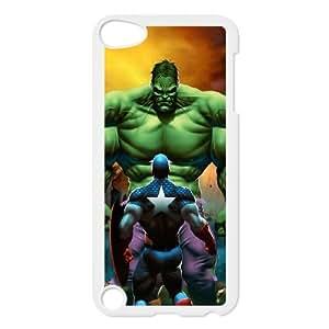 iPod Touch 5 Case White Captain America VS The Hulk Xrvbb
