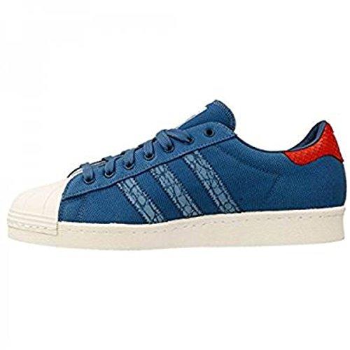 Adidas Superstar 80s Herren Sneaker Animal Blau , Adidas Schuhe Herren:EUR 47 1/3 | UK 12 | US 12.5 | CM 30.5
