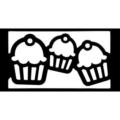 EK Paper Shapers Punch Lg Edger Cupcake Chain
