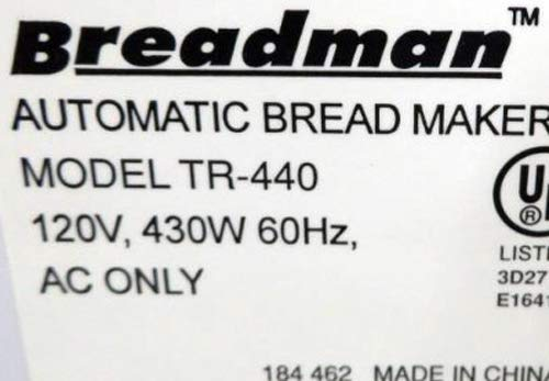 Breadman TR-440 Bread Machine Paddle by Breadman (Image #3)