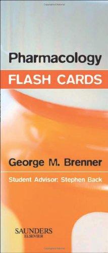 Pharmacology Flash Cards, 2e