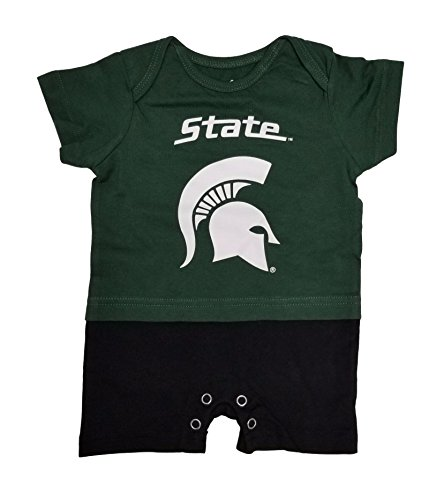 Michigan State Spartans Baby Infant Fan Jersey Romper