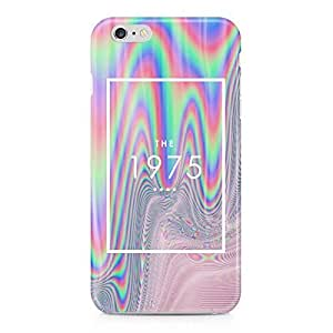 The 1975 Colorful Paint Rad Tye Dye Soap Film Trippy Holographic Hard Plastic Snap-On Case Cover For iPhone 6