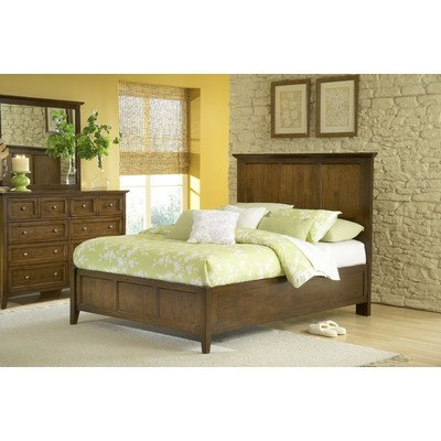 Modus Furniture Paragon Panel Bed, Truffle, California King from Modus Furniture