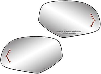 08 2008 GM CADILLAC ESCALADE  OEM PASSENGER SIDE HEATED TURN SIGNAL MIRROR GLASS