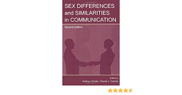Communication communication difference in leas series sex similarity