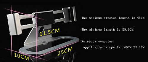 Laptop Lock, Aibay adjustable frame Universal PC Stand Anti-Theft Security Laptop Lock for Public Display by Aibay® (Image #7)
