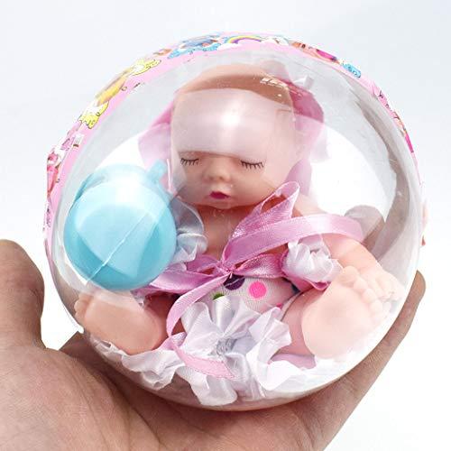 - Euone  Palm Ball, Transparent Ball Sleeping Pocket Doll Palm Doll Princess Ball Toys for Kids Gift