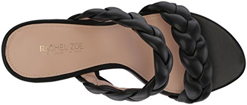 collections cheap price cheap sale exclusive Rachel Zoe Women's Demi Braid Heeled Sandal Black visit for sale cheap sale 2014 new free shipping footlocker finishline pl1p2ilyoG