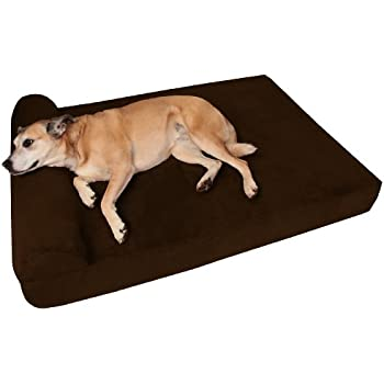 Amazon Com Kuranda Walnut Pvc Chewproof Dog Bed Large