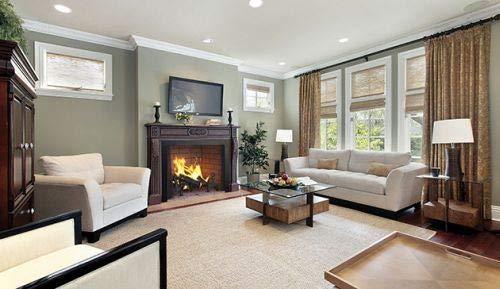 50'' Paneled Wood Burning Fireplace w/White Herringbone Panels by Superior Fireplaces