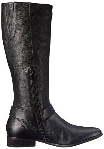 Scarpe Da Equitazione Dinamiche Corso Como Da Donna Pelle Martellata Nera / Pelle Spazzolata Nera