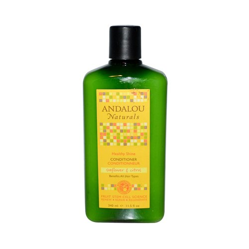 Andalou Naturals Healthy Shine Conditioner, Sunflower Citrus, 11.5 Ounce (Healthy Shampoo And Conditioner compare prices)