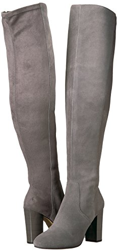 The Fix Women's Lyndsey Over-The-Knee Block-Heel Boot, Elephant Grey, 6.5 M US by The Fix (Image #6)'