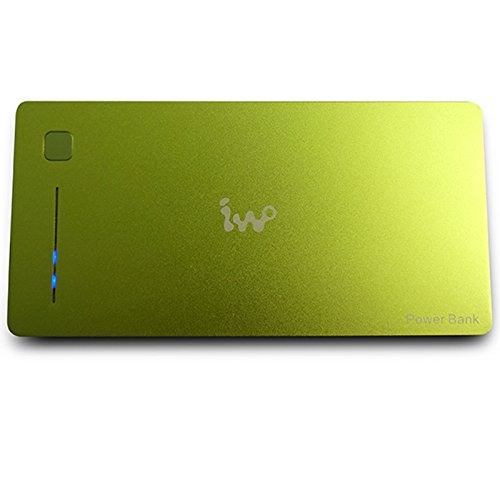 IWO P40 12000mAh Lithium-ion Polymer Portable Power Bank for Mobile Device Green