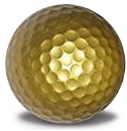 Gold Golf Balls 12 Pack