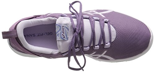 Asics Womens Gel-fit Sana 2 Scarpa Fitness Viola Uva / Blu Ghiaccio / Lilla